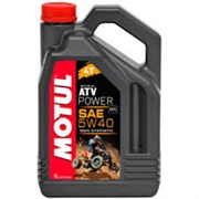 Масло MOTUL ATV POWER 4T 5W40 4 литра    105898