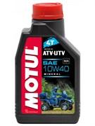 Масло MOTUL ATV-UTV 4T 10W40 1 литр  105878