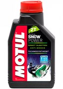 Масло MOTUL SNOWPOWER 2T 1 литр  106599