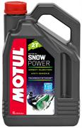 Масло MOTUL SNOWPOWER 2T 4 литр  106600