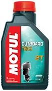 Масло MOTUL OUTBOARD TECH 2T 1 литр  106613