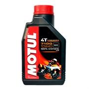 Масло MOTUL 7100 4T 10W40 1 литр  104091
