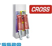 Амортизатор передний в сборе SS20 с пружинами Cross спорт для ATV BM 700 Jumbo (к-т 2 шт)